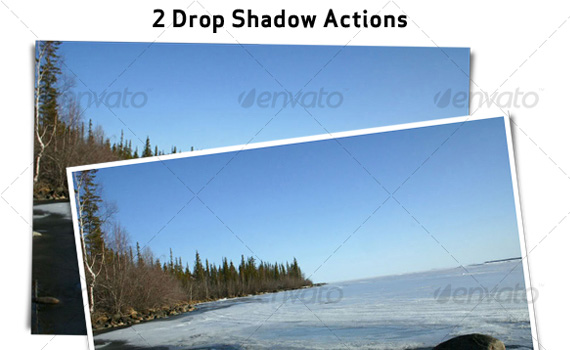 Drop-shadow-premium-photoshop-actions