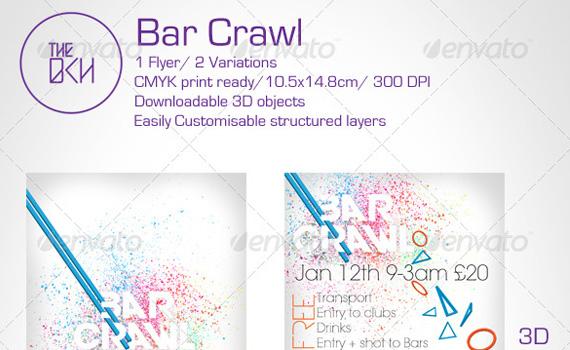 Bar-crawl-premium-print-ready-flyers