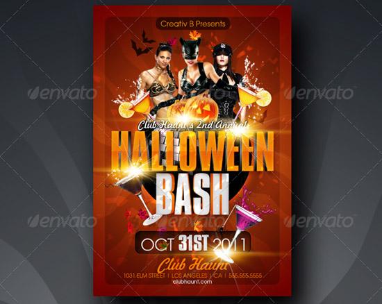 Halloween Bash Flyer Template