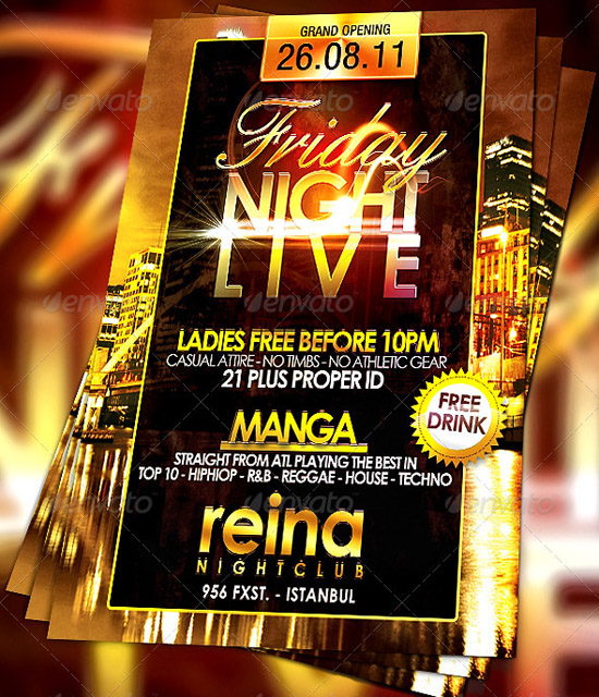 Nightclub-flyer-template