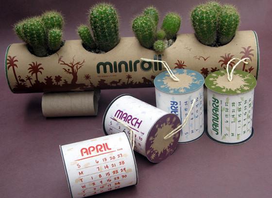 Miniroll tissue