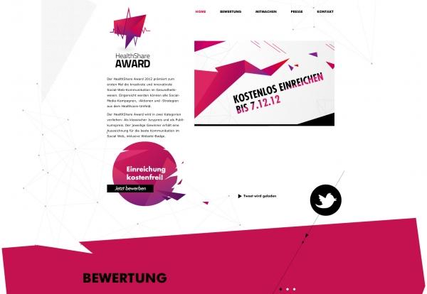 Healthshare - Der Social Healthcare Award 2012