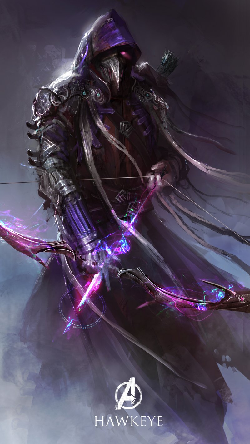 hawkeye-redesign-medieval-warrior-fantasy
