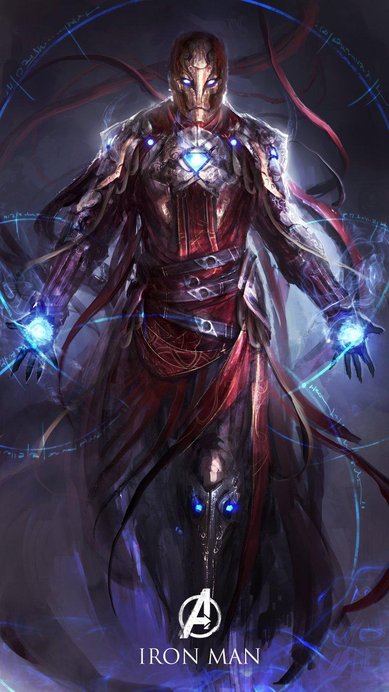 ironman-redesign-medieval-warrior-fantasy