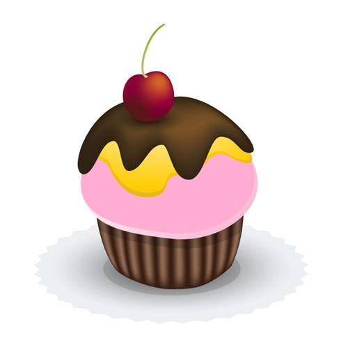 illustrator tutorial create a yummy vector cupcake