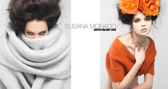 Fashion Brochure Design Examples - Susana Monaco