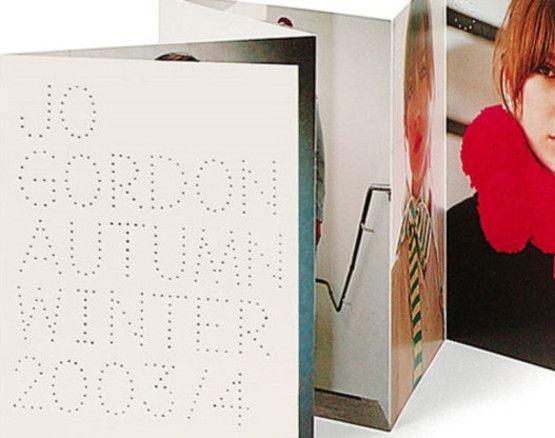 Fashion Brochure Design Examples - Jo Gordon