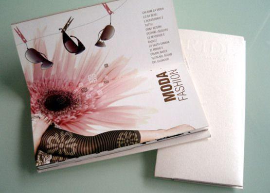 Fashion Brochure Design Examples - Moda Fashion