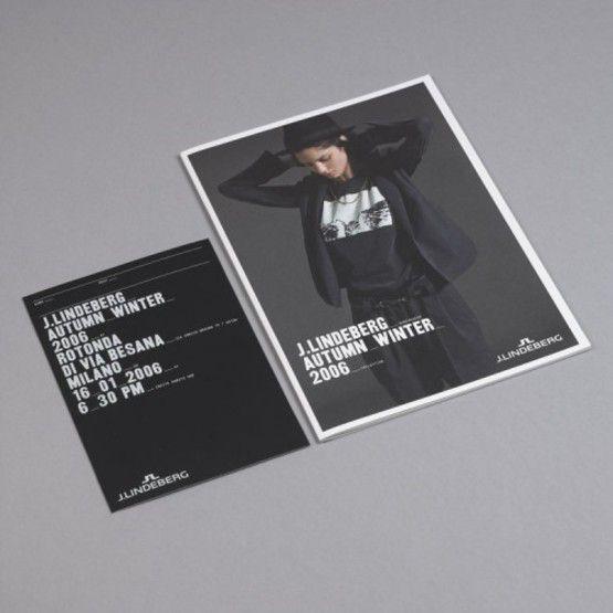 Fashion Brochure Design Examples - J.Linderberg