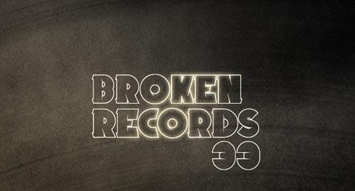 Download Broken Records free font
