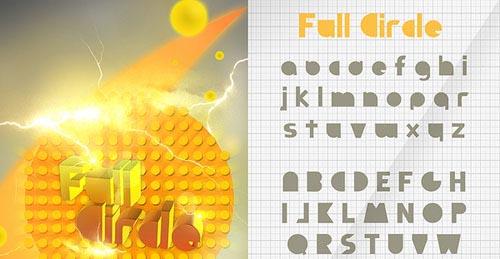 Download Full Circle free font