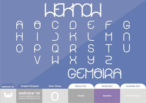 Download Gembira free font