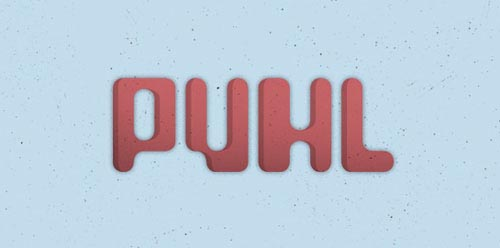 Download Puhl free font
