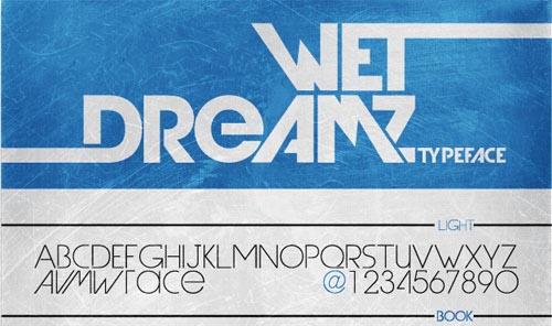 Download Wet Dreamz free font