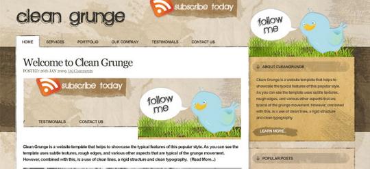 making-the-clean-grunge-blog-design