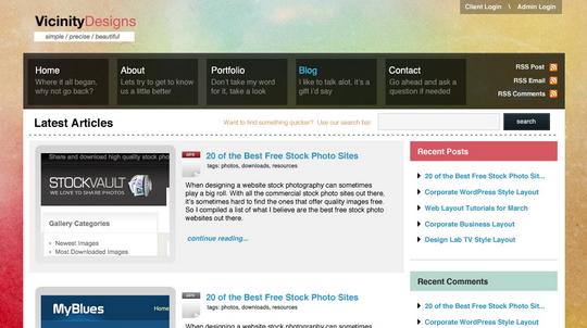 watercolored-design-studio-blog-layout