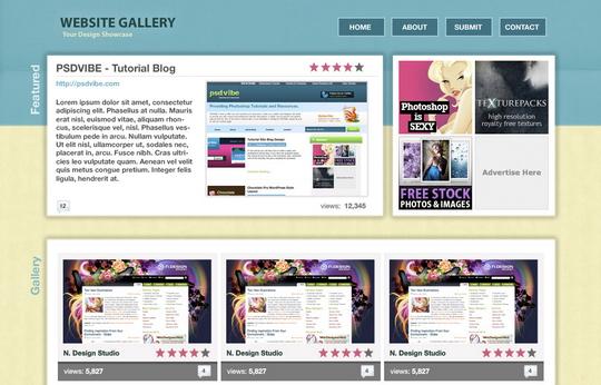 website-gallery-layout-design