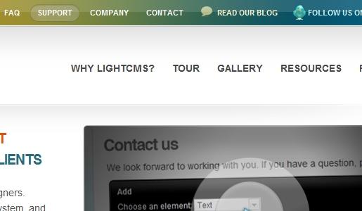 Light CMS