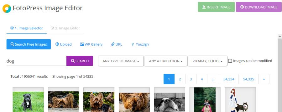 fotopress image editor wordpress plugin