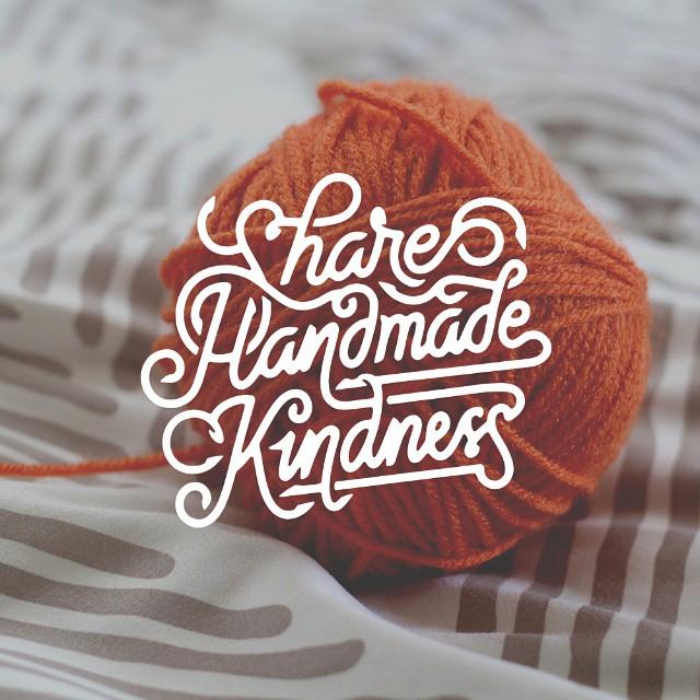 homemade typography design