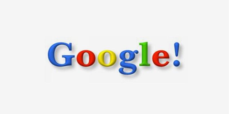 3 Google 1998 logo