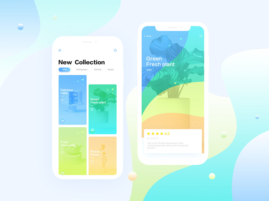 creative mobile app