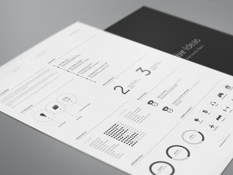 freebie resume design template cv