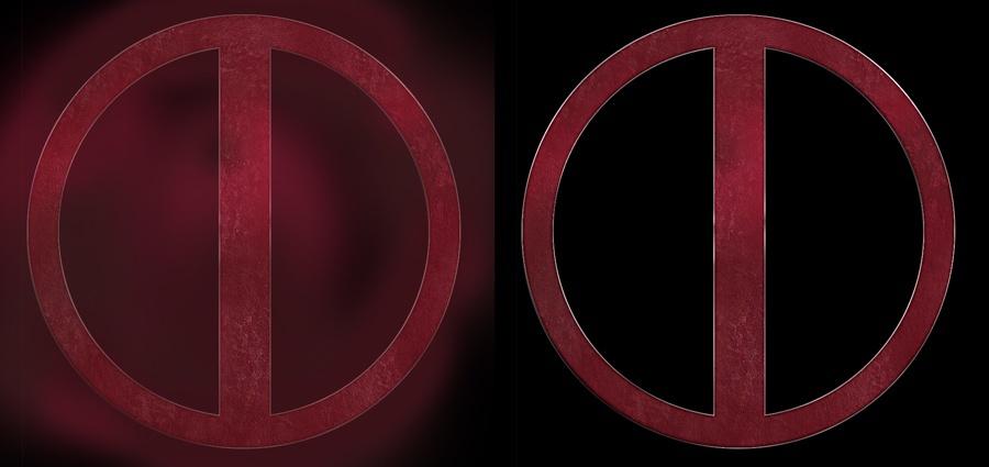 How to Make Deadpool Logo Tutorial