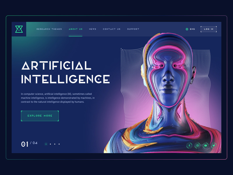 artificial intelligence website design