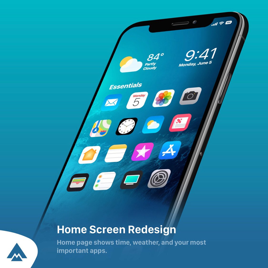 ios redesign concept