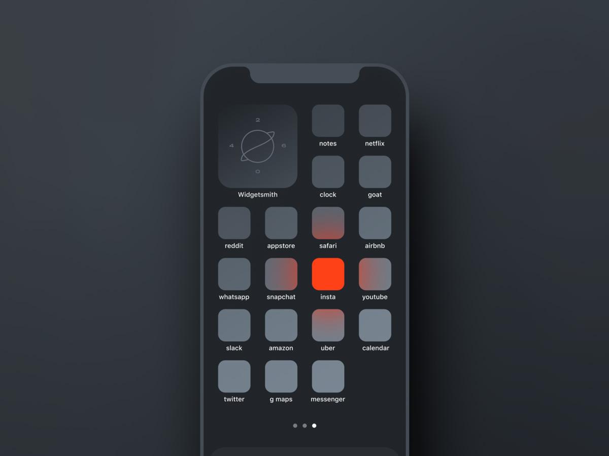 minimal ios icons