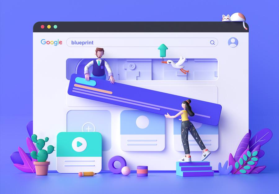 web design designers illustration