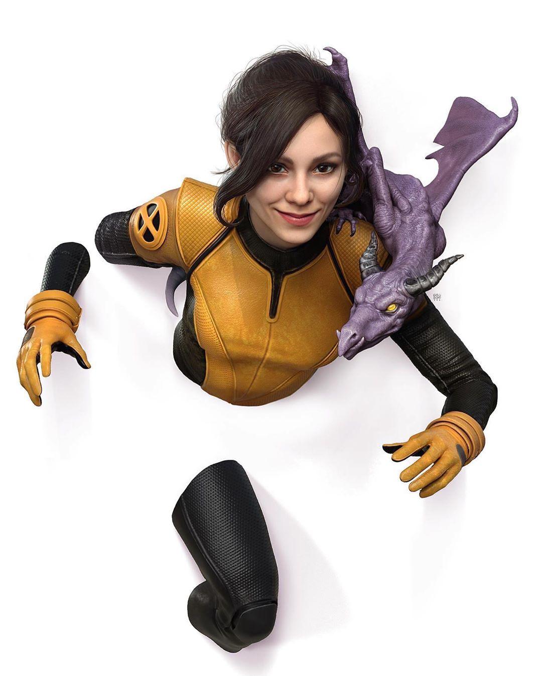 real xmen costume redesign